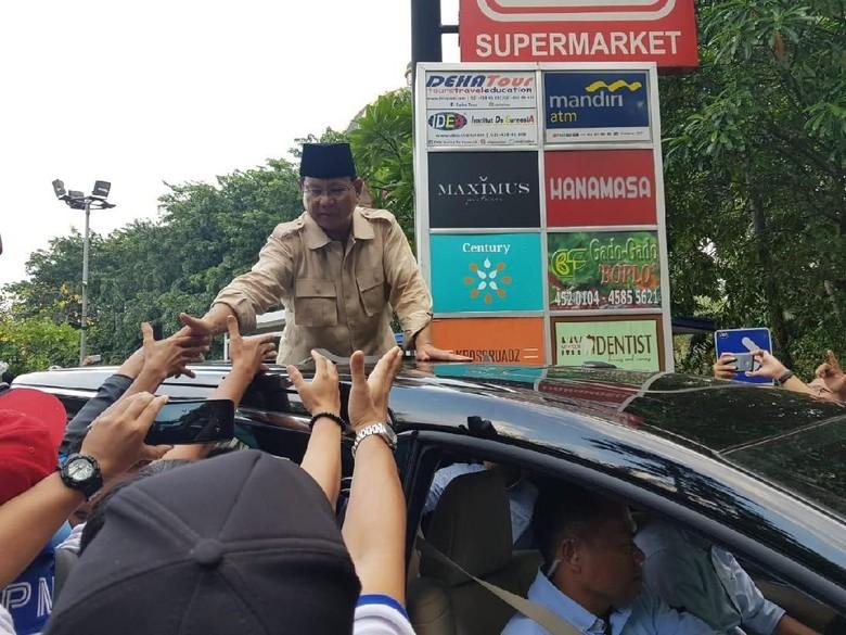 Prabowo Melejit di Survei Kompas, BPN: Jokowi Potensial Dikalahkan