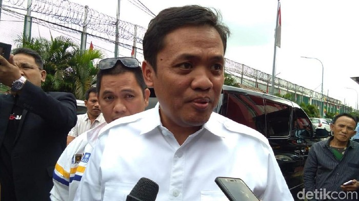 Foto: Ketua DPP Partai Gerindra Habiburokhman (Lisye Sri Rahayu/detikcom)