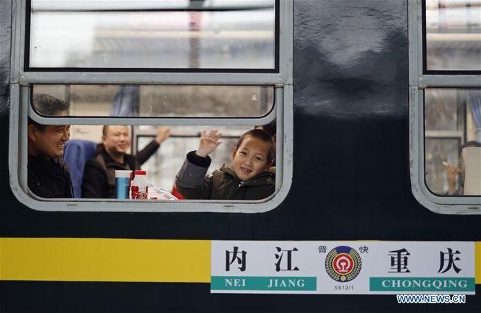 Ada sejumlah kereta berbiaya murah yang dioperasikan di China. Istimewa/Dok. Xinhuanet.