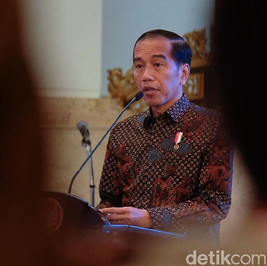 Nuzulul Quran di Istana, Jokowi Bicara Nasihat Para Ulama