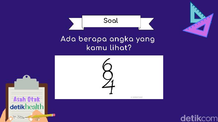 Ada berapa angka yang dapat kamu temukan? (Foto: detikHealth)