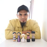 Suksesnya Bisnis Boneka Kayu Beromzet Rp 25 Juta/Bulan