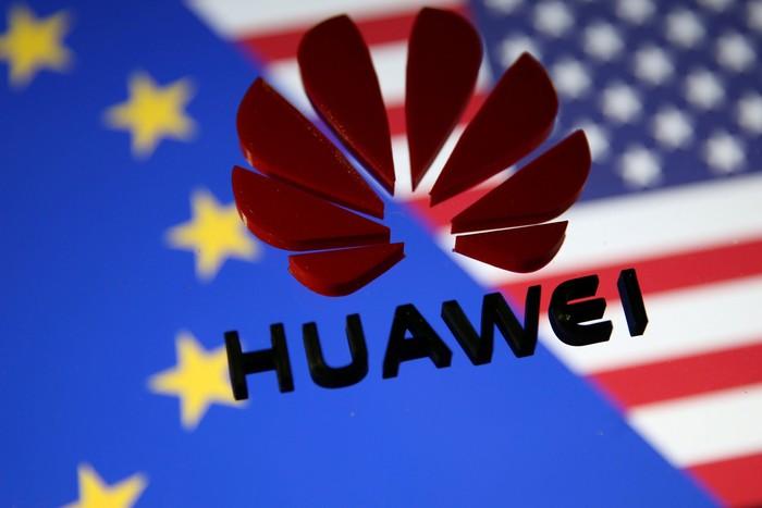 Ilustrasi Huawei. Foto: Reuters