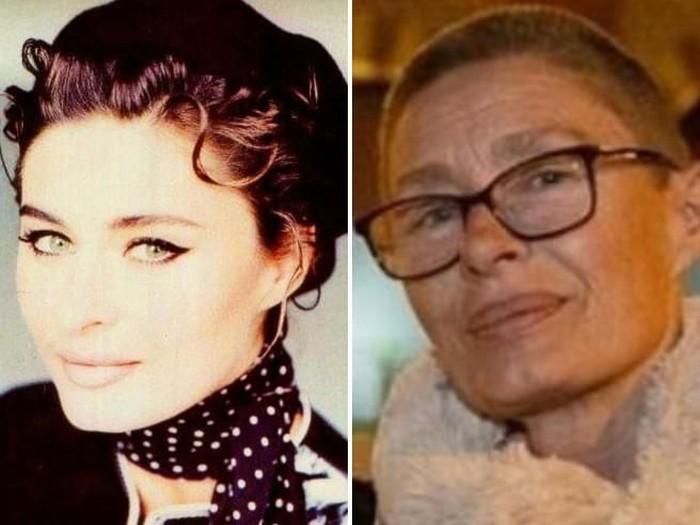 Nastasia Urbano dulu (kiri) dan sekarang (kanan) saat jadi gelandangan. Foto: istimewa