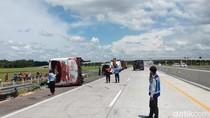 Ini Identitas Korban Kecelakaan Bus Tabrak Truk di Tol Nganjuk