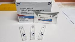 Badan Pengkajian dan Penerapan Teknologi (BPPT) merancang Kit Diagnosis Demam Berdarah Dengue. Masih dalam tahap pengujian dan bukan untuk self diagnosis.