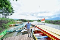 Selain jogging, Sandi juga suka memposting keindahan berbagai destinasi wisata di Indonesia salah satunya Desa Wisata Kampoeng Rawa di Ambarawa ini. Dirinya menekankan, salah satu fokus Prabowo-Sandi di sektor ekonomi, yakni ekonomi yang berbasis pariwisata (Instagram/sandiuno)