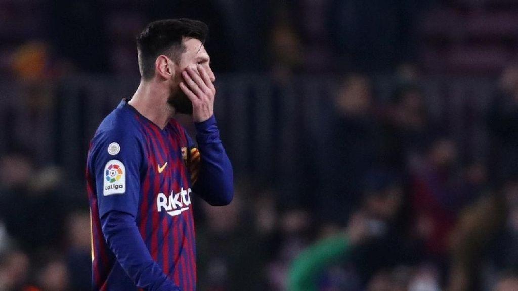 Messi Tak Pernah Bersinar Hadapi Lyon, Tak Seperti Ronaldo