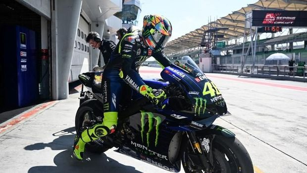 Pebalap Valentino Rossi