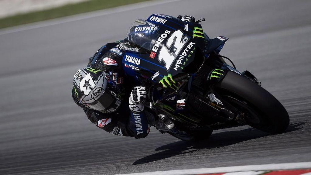 Vinales Tercepat di Hari Pertama Tes MotoGP Qatar