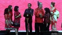 Jokowi Hadiri Perayaan Imlek di Kemayoran