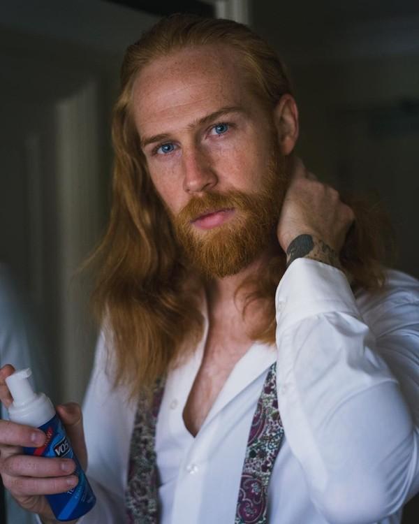 Bikin Wanita Iri 10 Pria Dengan Rambut Indah Seperti Model Iklan Sampo