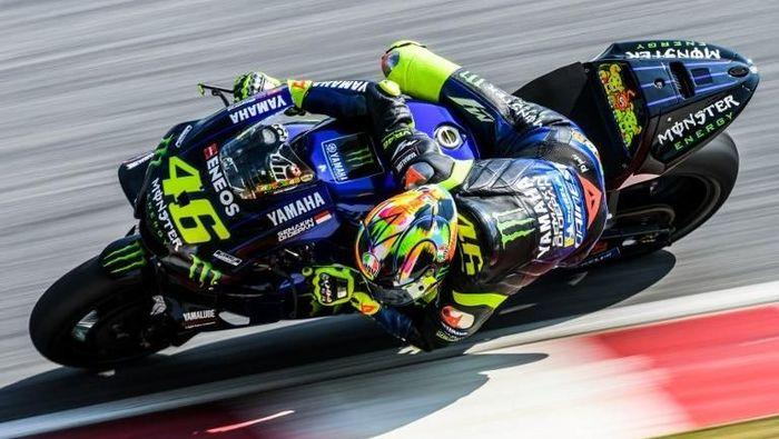 Pebalap Yamaha Valentino Rossi menegaskan, MotoGP akan tetap sama andai dirinya memutuskan pensiun. (Foto: Mohd RASFAN / AFP)