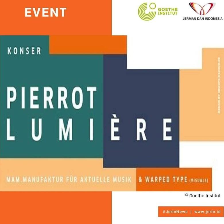 Pentas Perdana Pierrot Lumiere di Jakarta, Padukan Musik dan Seni Visual