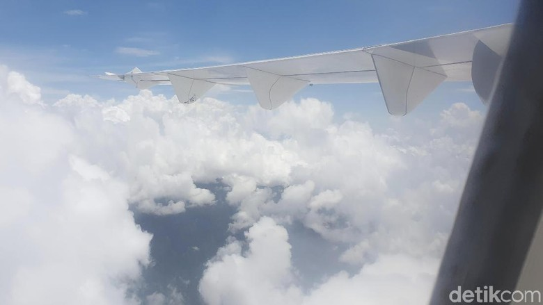 Foto: Penerbangan Jakarta ke Tasik (Ahmad Masaul Khoiri/detikTravel)
