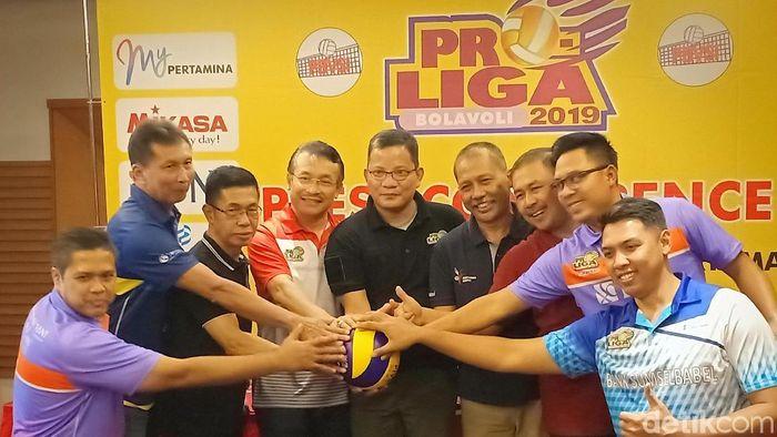 Final Four putaran I Proliga 2019 akan bergulir di Kediri mulai Jumat (8/2/2019) (Foto: detikSport/Andhika Dwi)