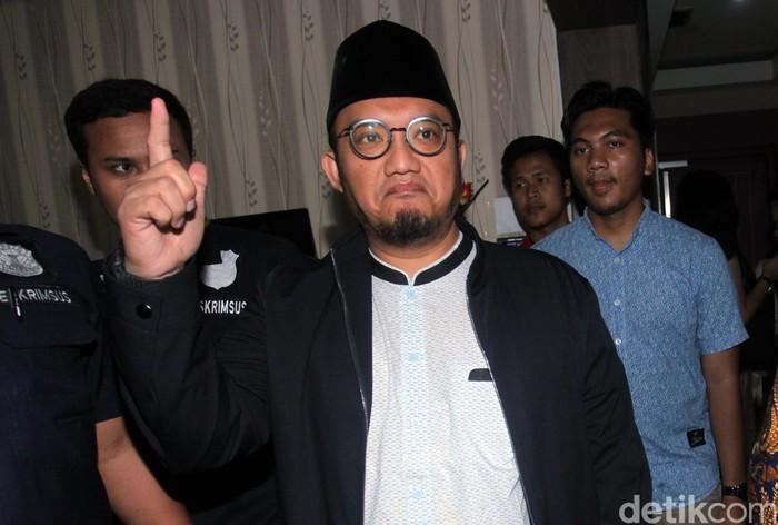 Dahnil Anzar Simanjuntak (Lamhot Aritonang/detikcom)