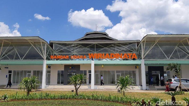 Inilah wajah baru dari Bandara Wiriadinata di Tasikmalaya. Sebelumnya, bandara ini meminjam fasilitas Lanud TNI AU Wiriadinata (Masaul/detikTravel)