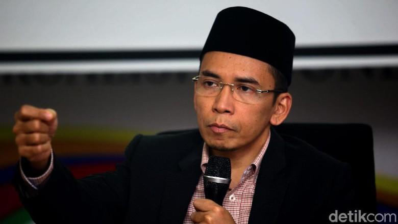 TGB Bicara Soal Kampanye di Masjid, Hingga Alasan Dukung Jokowi