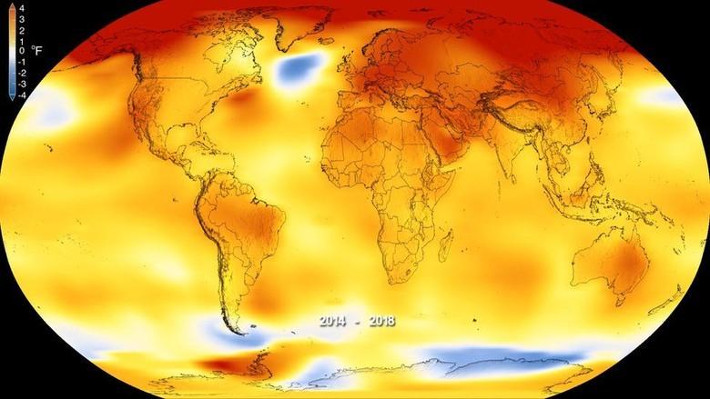 Ilmuwan: Dunia Sedang Mengalami Dekade Paling Hangat Sejak 1850