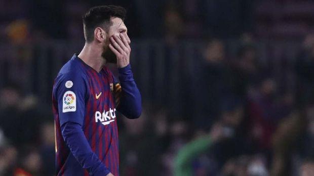 Lionel Messi masih memimpin perburuan sepatu emas Eropa.