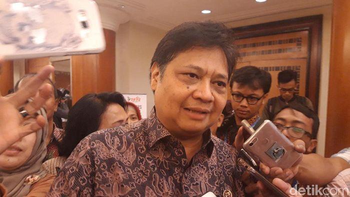 Menteri Perindustrian Airlangga Hartarto/Foto: Hilda Meilisa Rinanda