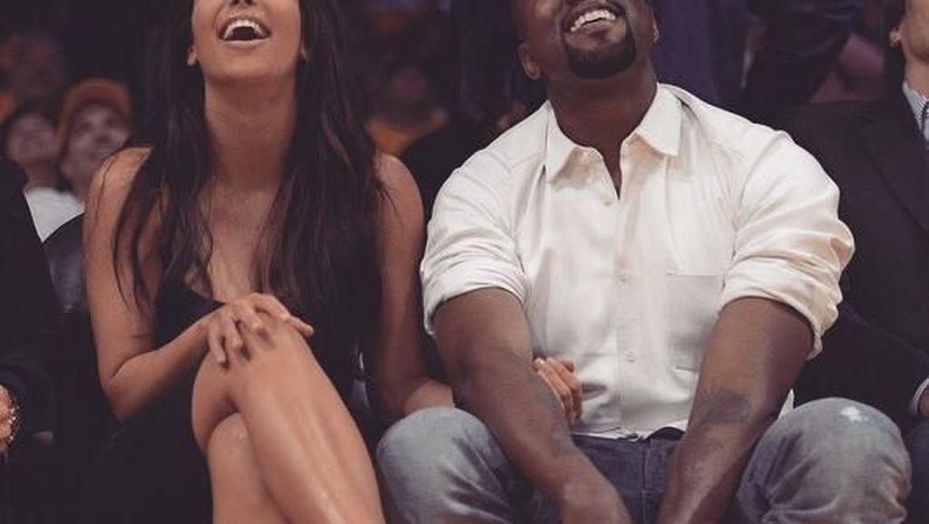 Kompak! Kim Kardashian dan Kanye West, Sama-Sama Doyan Es Krim Cone!