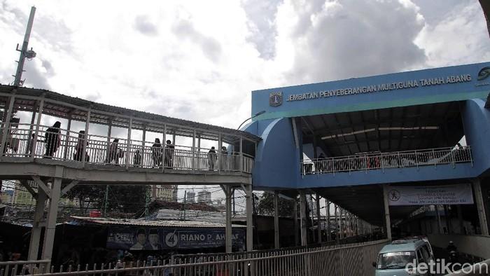 Skybridge Tanah Abang (Foto: Pradita Utama/detikcom)