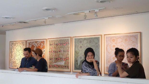 Tak Biasa, 19 Karya 'Serigraphy' Melissa Sunjaya Dipajang di Jakarta