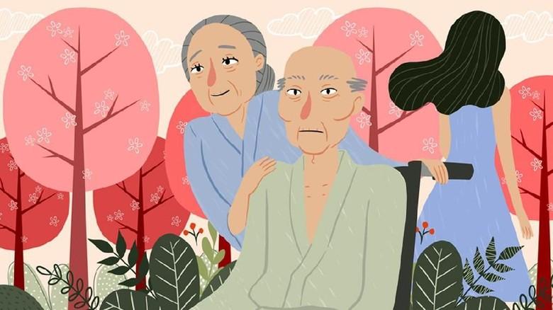 Sakura di Depan Rumah Kita
