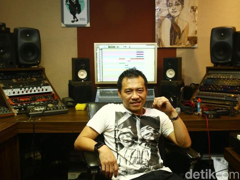 Anang Hermanysah, musisi dan Anggota Komisi X DPR RI pengusul RUU Permusikan. Foto: Grandyos Zafna/detik.com