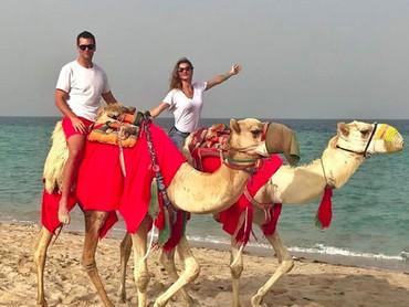 Di sela-sela kesibukannya,Gisele dan Tom selalu meluangkan waktu untuk quality time. (Foto: Instagram @gisele)