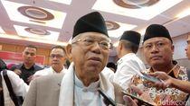 Maruf Amin Setuju JK Larang Ahok Masuk TKN