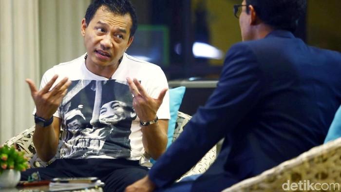 Blak Blakan Bersama Anang Hermansyah soal RUU Permusikan (Foto: Grandyos Zafna/detik.com)