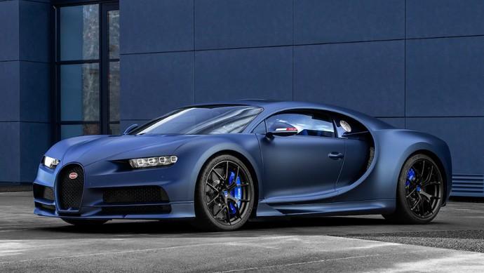 Bugatti Chiron New Special Edition Edisi Ultah ke-110 Tahun