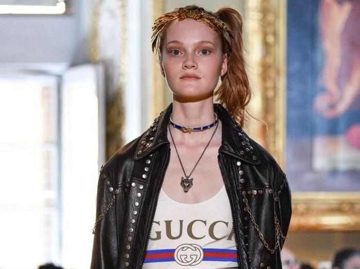 Gucci brand fashion paling hits di dunia. Foto: Dok. Getty Images