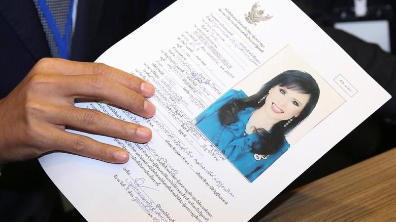 Batal Jadi Calon PM Thailand, Putri Ubolratana Minta Maaf ke Publik