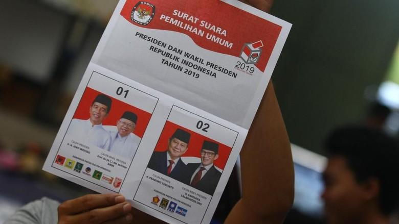 Data Masuk KPU 31%, Begini Dominasi Jokowi di Bali