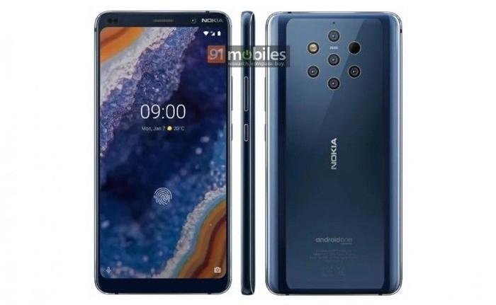 Penampakan terjelas Nokia 9 PureView. Foto: 91Mobiles