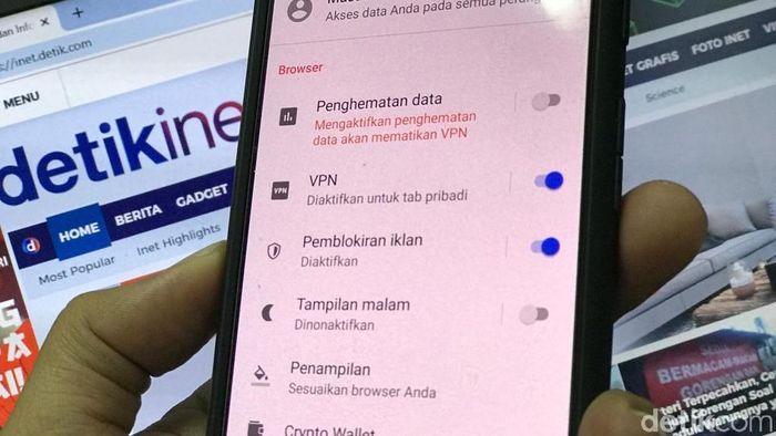 Ilustrasi VPN/Foto: Adi Fida Rahman/detikINET