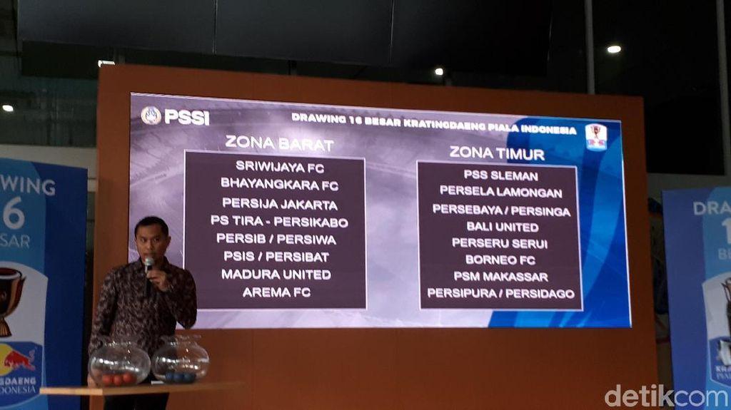 Undian Babak 16 Besar Piala Indonesia, Ivan Kolev Jumpa Mantan Klub