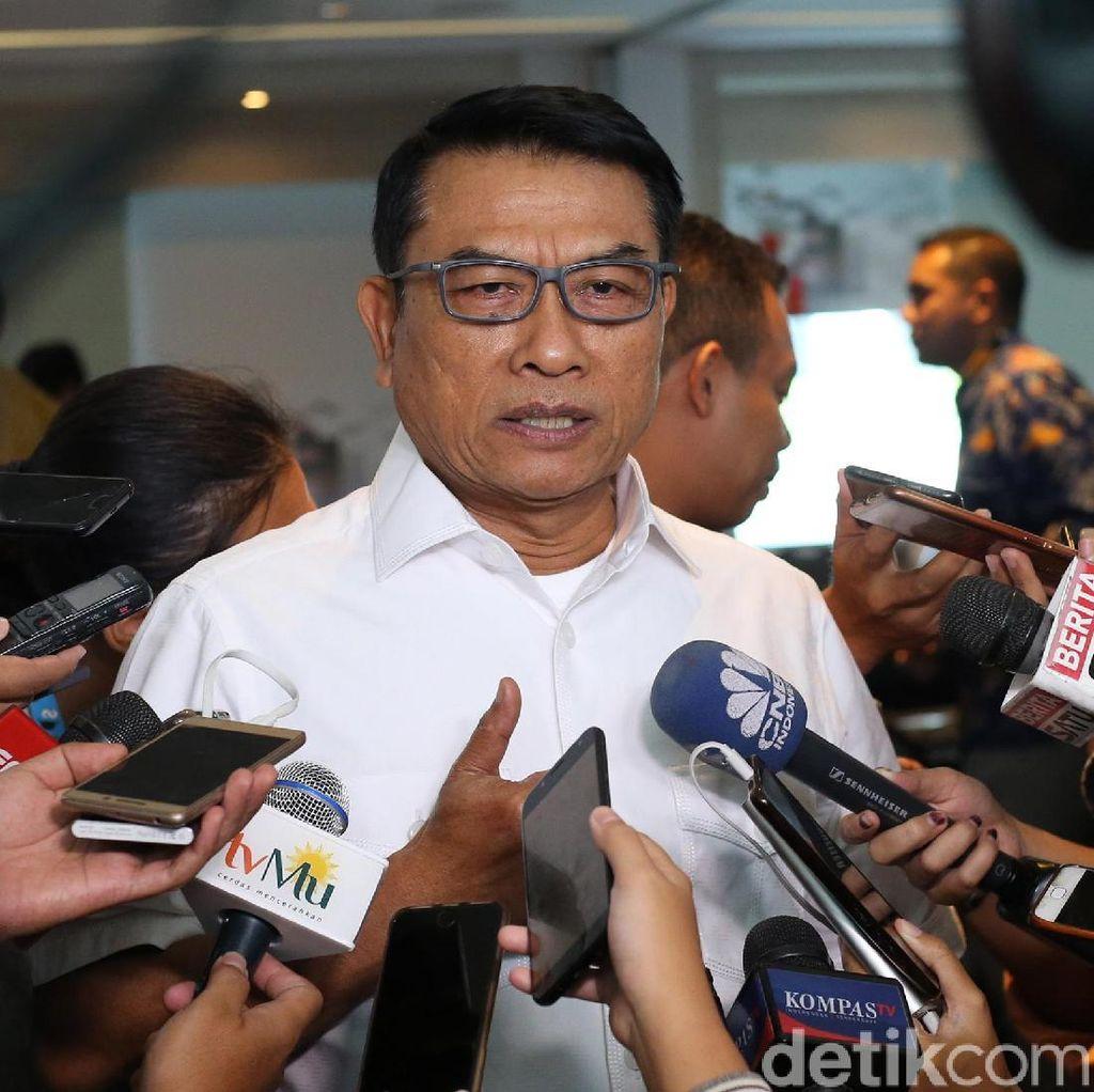 Kata Moeldoko soal Mobil Pelat TNI di Kampanye Prabowo