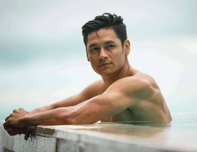 Hideo Muraoka adalah model dengan darah Brasil-Jepang yang tinggal di Manila, Filipina. Dulu namanya sempat viral dibawa-bawa Lucinta Luna sebagai idolanya. (Foto: Instagram/hideo_official, ditampilkan atas izin yang bersangkutan)