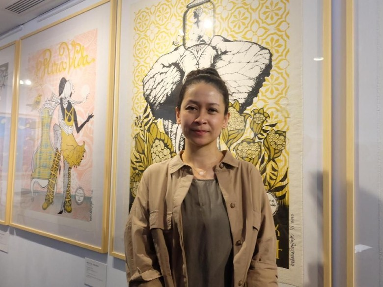 Tak Biasa, 19 Karya Serigraphy Melissa Sunjaya Dipajang di Jakarta