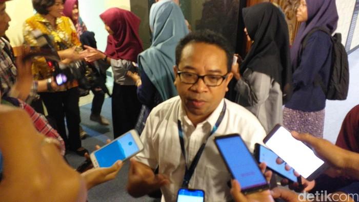 Plt Kepala Biro Humas Kemkominfo Ferdinandus Setu. Foto: Amir Baihaqi/detikcom