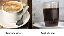 Warung Kopi vs Kafe Kopi, Kamu Lebih Suka Nongkrong di Mana?