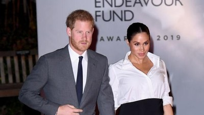 Jelang Persalinan Istri, Pangeran Harry Rencanakan Cuti