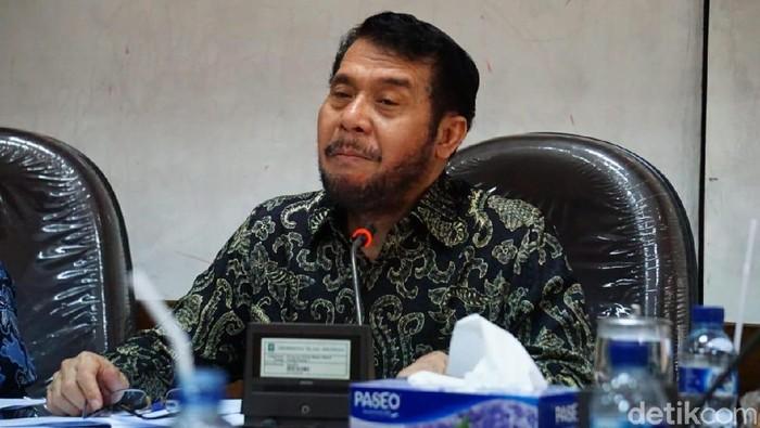 Ketua MK, Anwar Usman di UII, Jumat (8/2/2019).