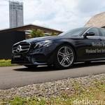 Merasakan Langsung Teknologi EQ Boost di Mercedes-Benz E 350