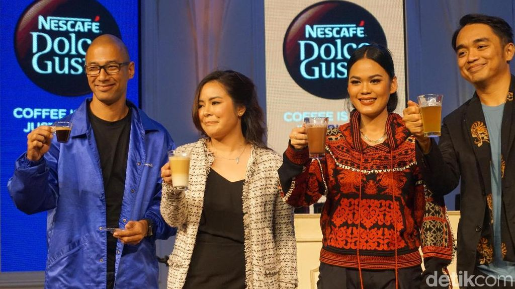 Karena Cinta Kopi, Dipha Barus, Marcell dan Andien Berkolaborasi di Music Drip